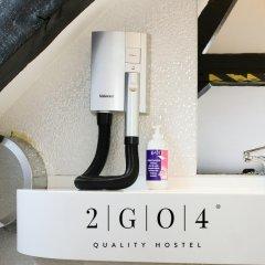 2GO4 Quality Hostel Grand Place Кровать в женском общем номере с двухъярусной кроватью фото 2