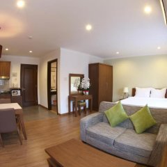 Апартаменты Song Hung Apartments Улучшенные апартаменты с различными типами кроватей фото 11