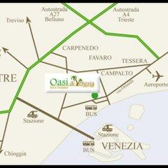 Отель B&B Oasi di Venezia городской автобус