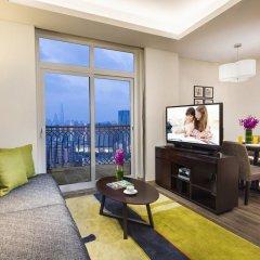 Отель Somerset Xu Hui Shanghai комната для гостей фото 4