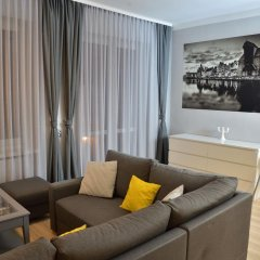 Отель Bajkowy Gdańsk Улучшенные апартаменты с различными типами кроватей фото 27