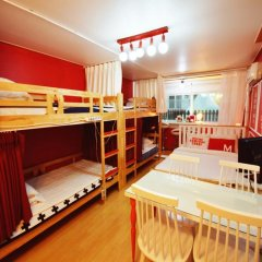 Отель Han River Guesthouse 2* Семейная студия с двуспальной кроватью фото 8