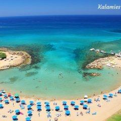 Отель Villa Charlotte Кипр, Протарас - отзывы, цены и фото номеров - забронировать отель Villa Charlotte онлайн пляж