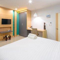 Отель Phoomjai House 3* Улучшенный номер с различными типами кроватей фото 4