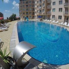 Отель VP Black Sea Болгария, Солнечный берег - отзывы, цены и фото номеров - забронировать отель VP Black Sea онлайн бассейн