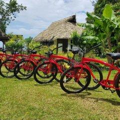 Отель Linareva Moorea Beach Resort Французская Полинезия, Муреа - отзывы, цены и фото номеров - забронировать отель Linareva Moorea Beach Resort онлайн спортивное сооружение