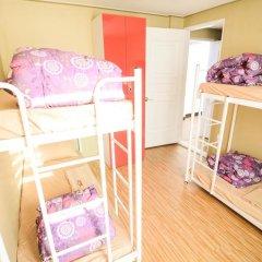 YaKorea Hostel Dongdaemun Кровать в женском общем номере с двухъярусной кроватью фото 5