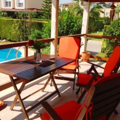 Отель Paradise Town - Art Villa Белек балкон