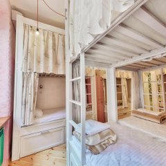 Гостиница Hipstel Кровать в женском общем номере с двухъярусной кроватью фото 4