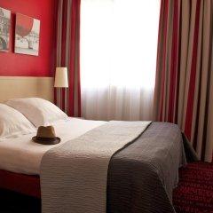 Отель Hôtel Le Richemont 3* Стандартный номер с двуспальной кроватью фото 2
