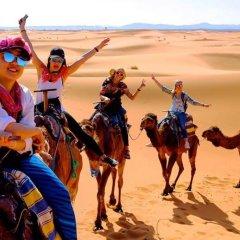 Отель Desert Berber Fire-Camp Марокко, Мерзуга - отзывы, цены и фото номеров - забронировать отель Desert Berber Fire-Camp онлайн пляж фото 2