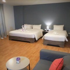 Отель See also Jomtien 3* Семейный номер Делюкс с двуспальной кроватью фото 2