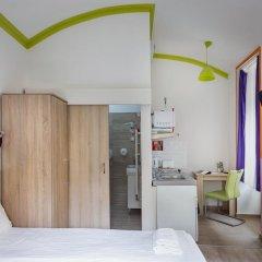 Отель Amber Gardenview Studios Студия с различными типами кроватей фото 18