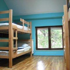 Star Hostel Belgrade Кровать в общем номере с двухъярусной кроватью фото 2