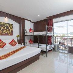 Отель Patong Buri 3* Стандартный номер с различными типами кроватей фото 3