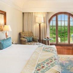 Отель The Oberoi Amarvilas, Agra 5* Люкс повышенной комфортности с различными типами кроватей фото 2