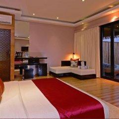Отель Adaaran Prestige Vadoo 5* Вилла с различными типами кроватей фото 28
