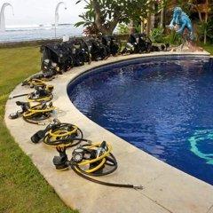 Отель Relax Beach Resort Candidasa бассейн фото 2