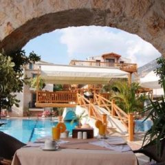 Asfiya Sea View Hotel Турция, Калкан - отзывы, цены и фото номеров - забронировать отель Asfiya Sea View Hotel онлайн бассейн фото 2