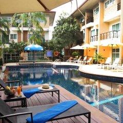 Отель Wonderful Pool house at Kata 3* Стандартный номер двуспальная кровать