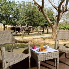 Отель Montebelo Gorongosa Lodge & Safari 3* Улучшенный номер разные типы кроватей фото 4