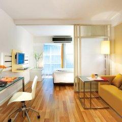 Отель Citadines Sukhumvit 16 Bangkok Таиланд, Бангкок - 1 отзыв об отеле, цены и фото номеров - забронировать отель Citadines Sukhumvit 16 Bangkok онлайн комната для гостей фото 3