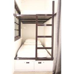 Отель 5footway.inn Project Ann Siang 2* Кровать в общем номере с двухъярусной кроватью фото 2