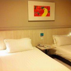 Отель Jinjiang Inn Shanghai Minhang Dongchuan Road 2* Стандартный номер с 2 отдельными кроватями