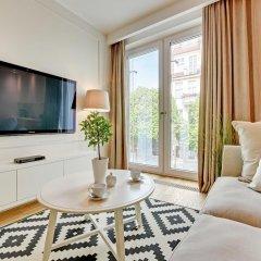 Апартаменты Grand Apartments - Wave Сопот комната для гостей фото 5