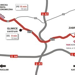Park Hotel Diament Zabrze/Gliwice городской автобус