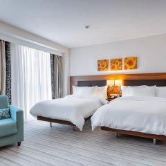 Гостиница Hilton Garden Inn Краснодар (Хилтон Гарден Инн Краснодар) 4* Стандартный номер разные типы кроватей фото 2