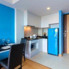 Отель Rocco Huahin Condominium Студия с различными типами кроватей фото 11