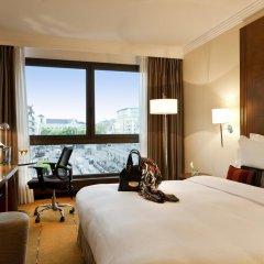 Отель Warwick Geneva 4* Улучшенный номер с различными типами кроватей фото 2