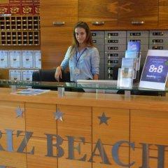 Отель Briz Beach Aparthotel Болгария, Солнечный берег - отзывы, цены и фото номеров - забронировать отель Briz Beach Aparthotel онлайн интерьер отеля
