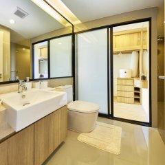 Отель The Chezz Central Condo By Mypattayastay Паттайя ванная фото 2