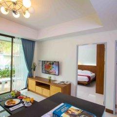 Отель Baan Karon Resort 3* Стандартный семейный номер с двуспальной кроватью фото 2