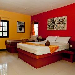 Отель Fullmoon Beach Resort 3* Стандартный номер с разными типами кроватей фото 3