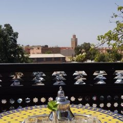 Отель Riad & Spa Bahia Salam Марокко, Марракеш - отзывы, цены и фото номеров - забронировать отель Riad & Spa Bahia Salam онлайн балкон