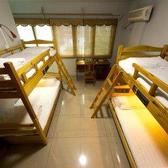 Hello Chengdu International Youth Hostel Кровать в общем номере с двухъярусной кроватью фото 3