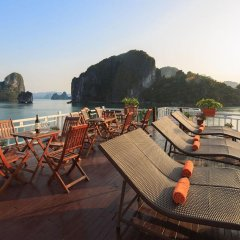 Отель Halong Golden Bay Cruise бассейн
