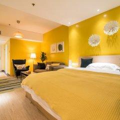 Guangzhou Jinzhou Hotel 3* Стандартный номер с различными типами кроватей фото 6