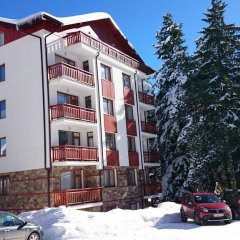 Апартаменты Tes Rila Park & Semiramida Apartments Боровец парковка