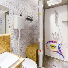 Chillout Hostel Zagreb Кровать в общем номере с двухъярусной кроватью фото 12