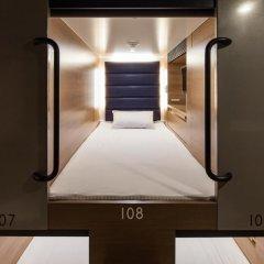 Отель Y's Cabin Yokohama Kannai 2* Капсула в мужском общем номере фото 3