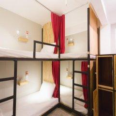 Homie Hostel & Cafe' 2* Кровать в общем номере фото 2