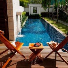 Отель Two Villas Holiday Oxygen Style Bangtao Beach 4* Вилла с различными типами кроватей фото 24