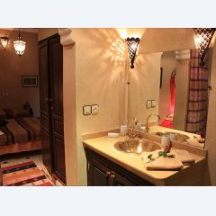 Отель Dar Asdika Марокко, Марракеш - отзывы, цены и фото номеров - забронировать отель Dar Asdika онлайн ванная
