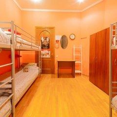 Отель Жилое помещение Bear на Смоленской Кровать в общем номере фото 7