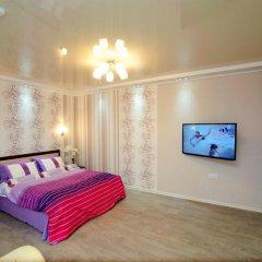 Апартаменты на Луговой 67/69 Студия с различными типами кроватей фото 11