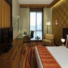 Radisson Blu Hotel, Dubai Media City 4* Улучшенный номер с различными типами кроватей фото 3